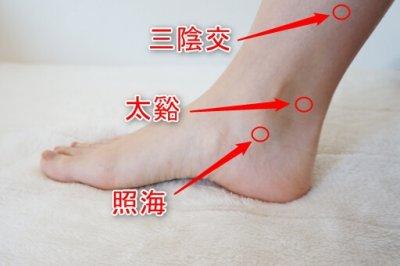 足にある痩せるツボ3