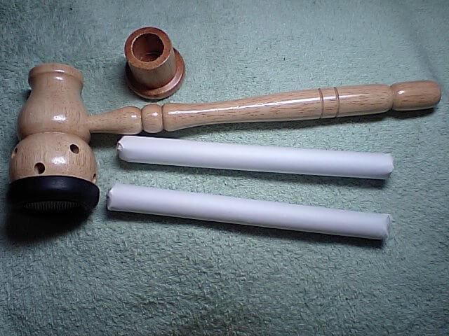 台湾棒灸と棒灸用の温灸器