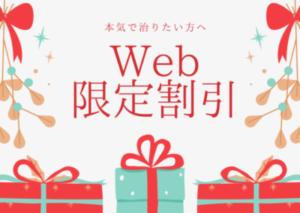 Web 限定割引