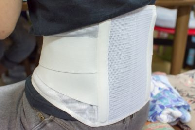 コルセット腰痛ベルト